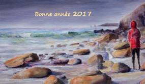 Raymond ALTES tableau Très Bonne Année 2017