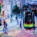 L'autre partie de la rue de Siam, le tram point central