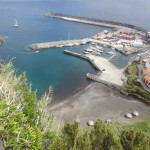 Le port de Lajes