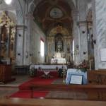 nef de l'église de Fajazinha